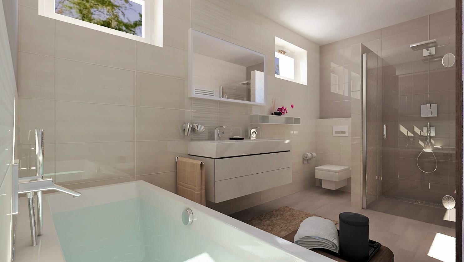 Návrhy a vizualizácie kúpeľní - Obrázok č. 58