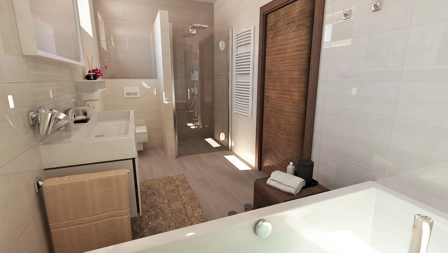 Návrhy a vizualizácie kúpeľní - Obrázok č. 60