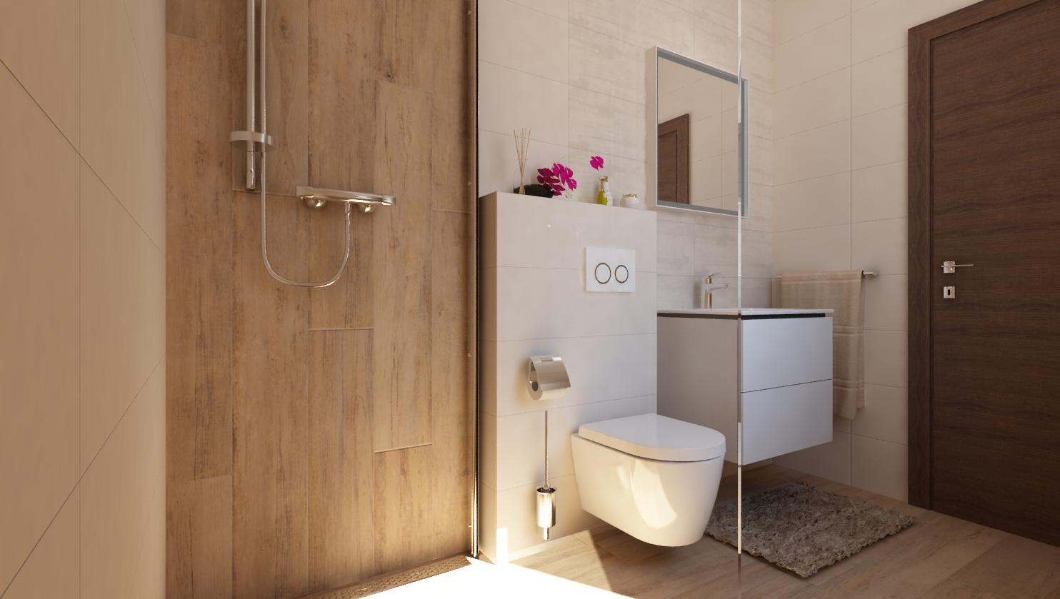 Návrhy a vizualizácie kúpeľní - Obrázok č. 64