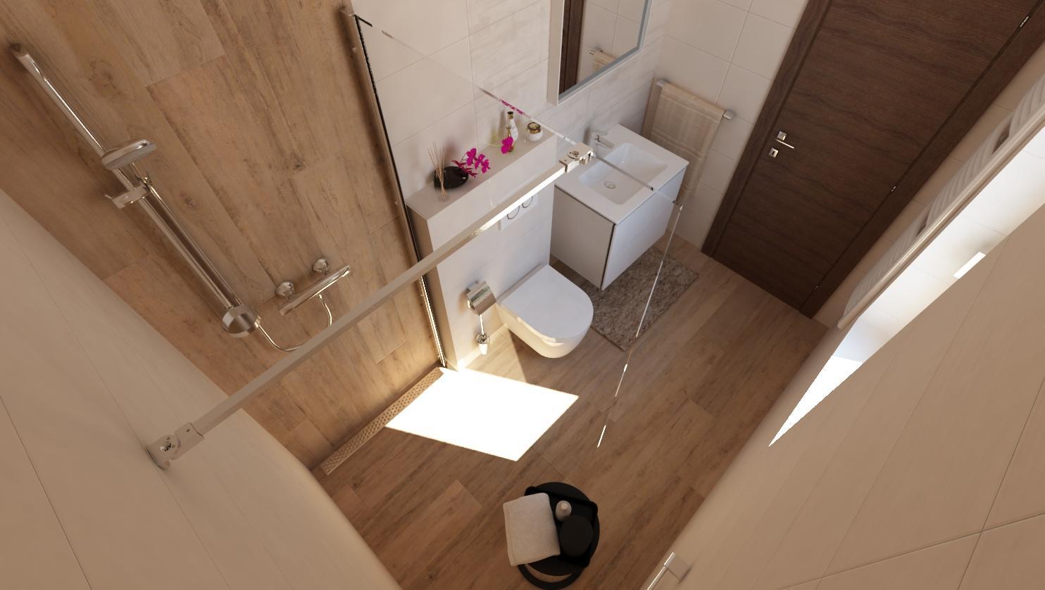 Návrhy a vizualizácie kúpeľní - Obrázok č. 65