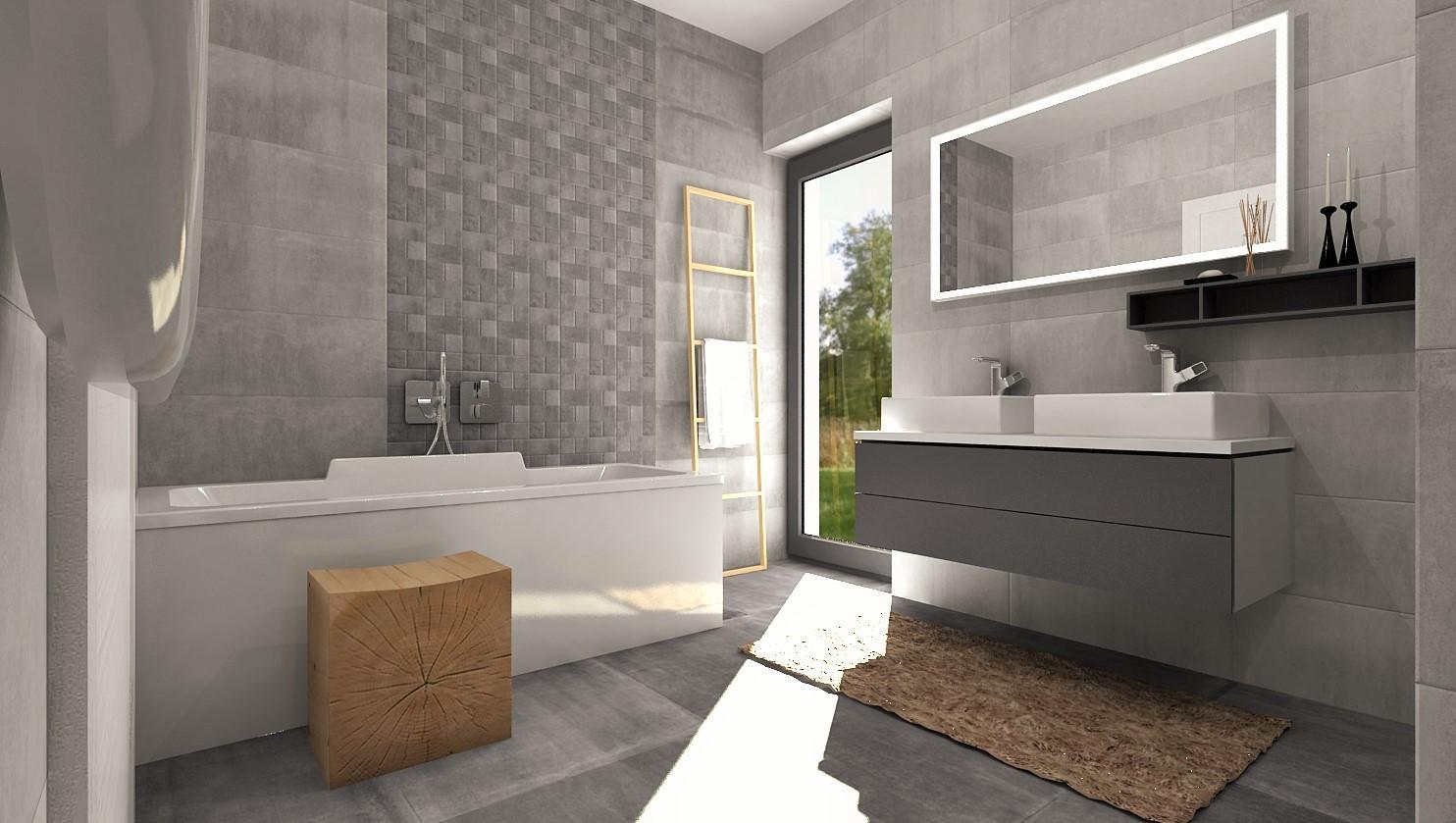 Návrhy a vizualizácie kúpeľní - Obrázok č. 74