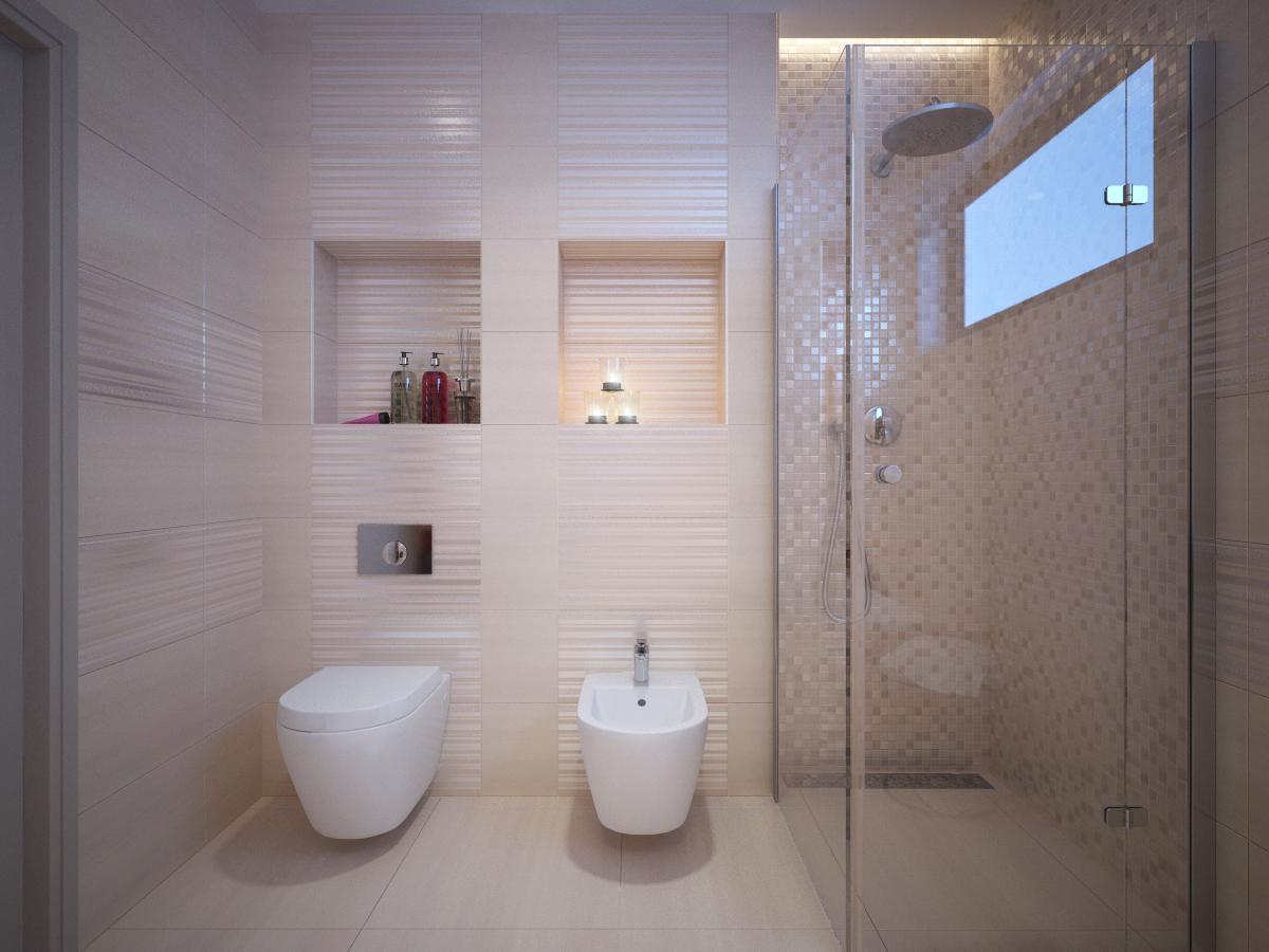 Návrhy a vizualizácie kúpeľní - Obrázok č. 85