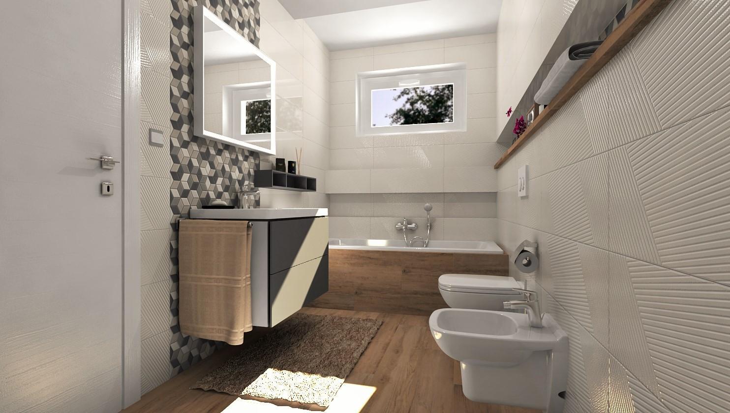 Návrhy a vizualizácie kúpeľní - Obrázok č. 86