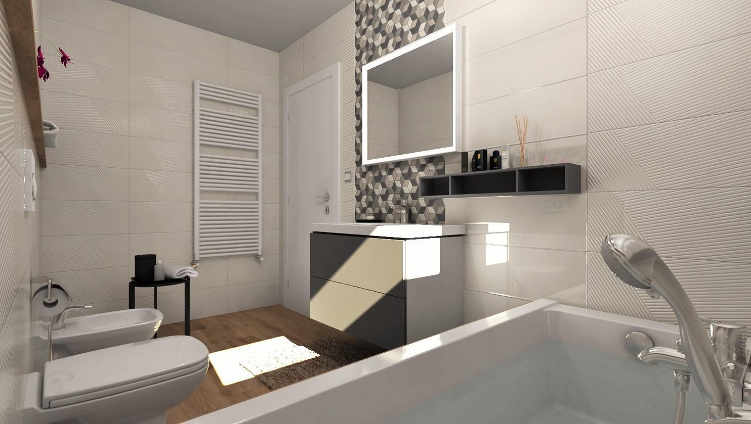 Návrhy a vizualizácie kúpeľní - Obrázok č. 87