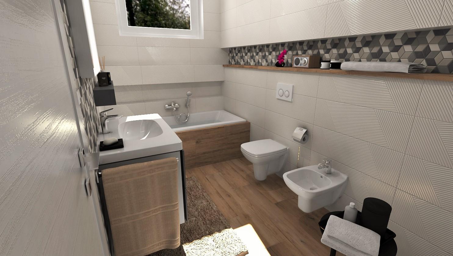 Návrhy a vizualizácie kúpeľní - Obrázok č. 88
