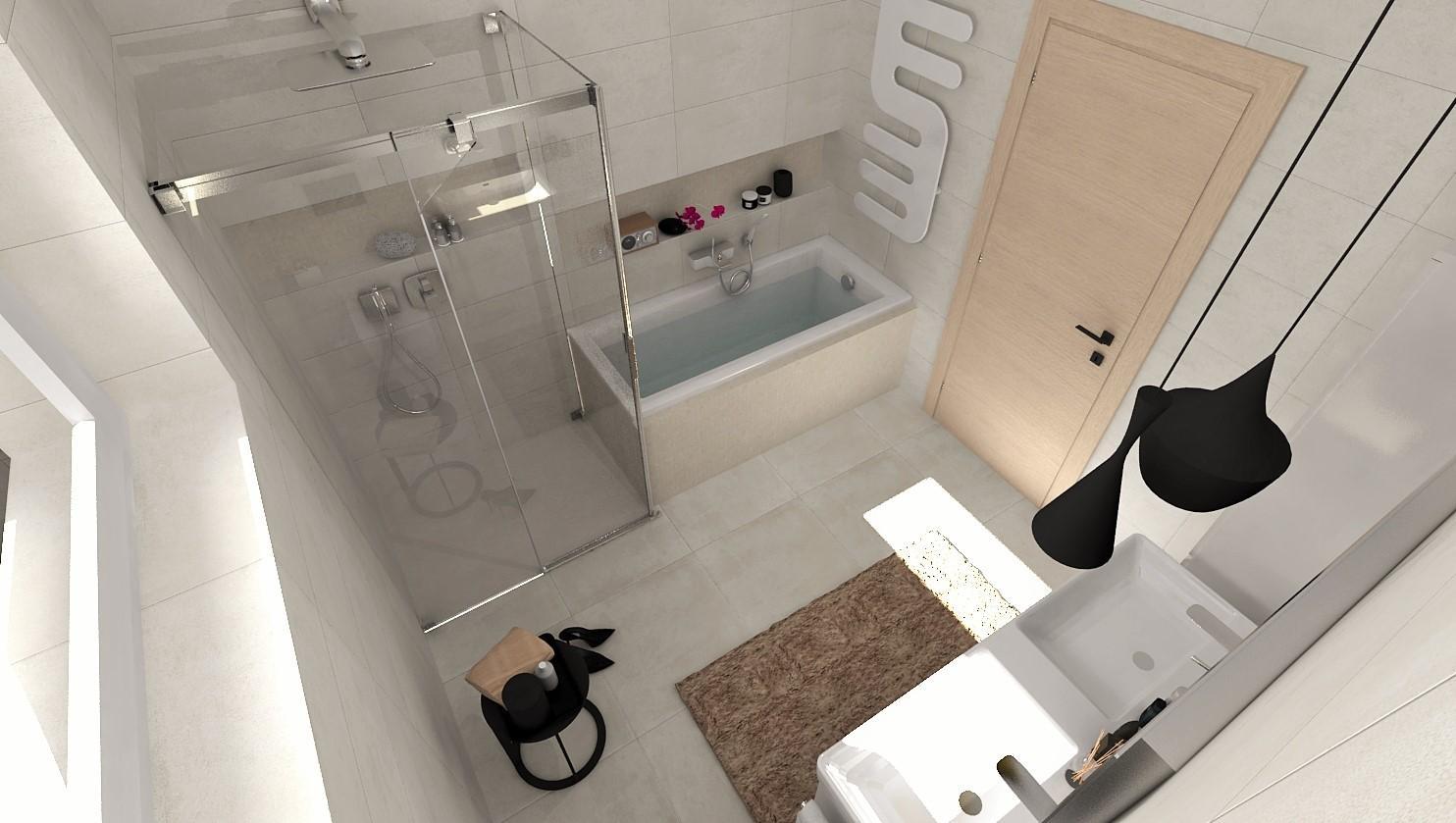 Návrhy a vizualizácie kúpeľní - Obrázok č. 90
