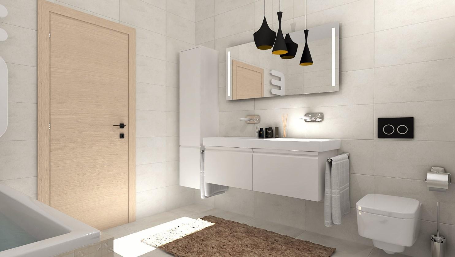 Návrhy a vizualizácie kúpeľní - Obrázok č. 91