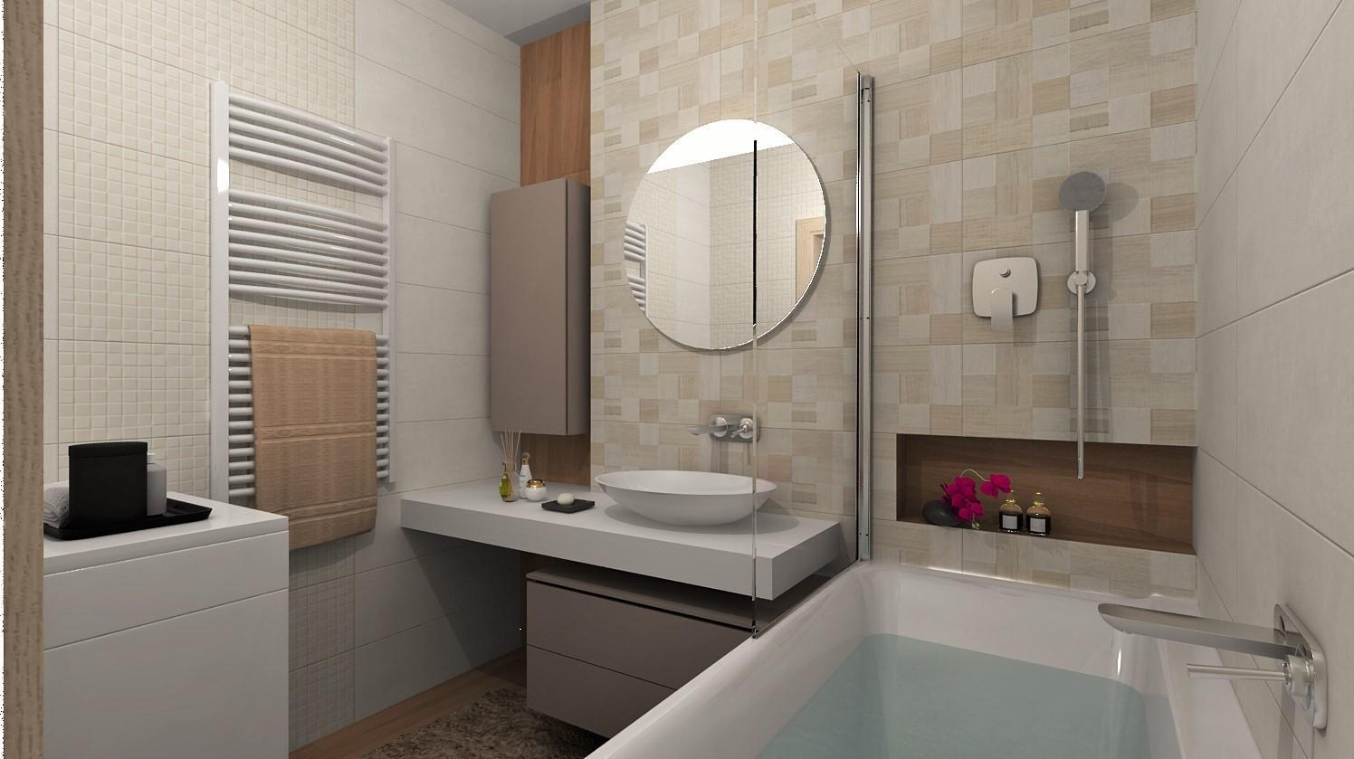 Návrhy a vizualizácie kúpeľní - Obrázok č. 92