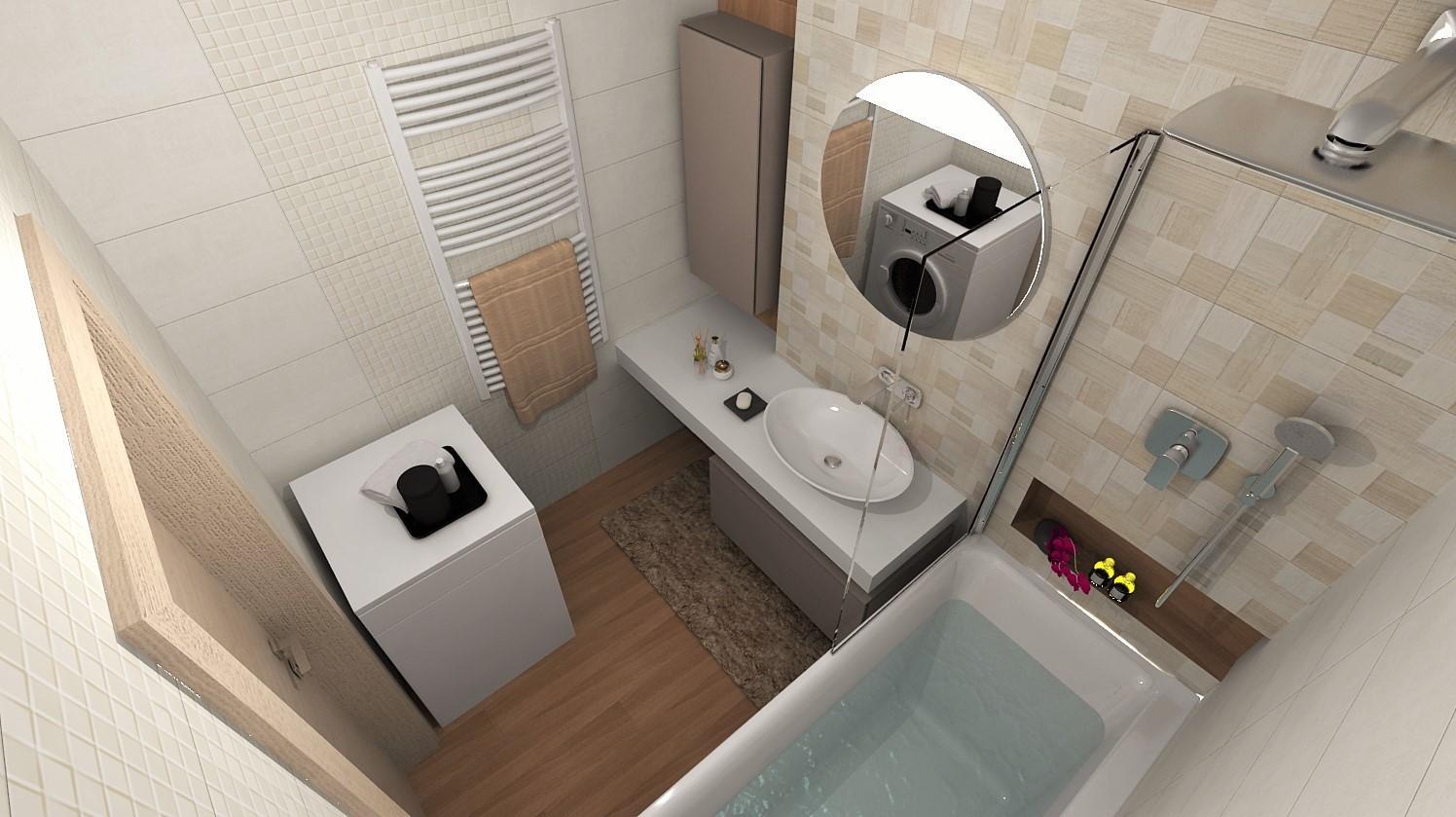 Návrhy a vizualizácie kúpeľní - Obrázok č. 94