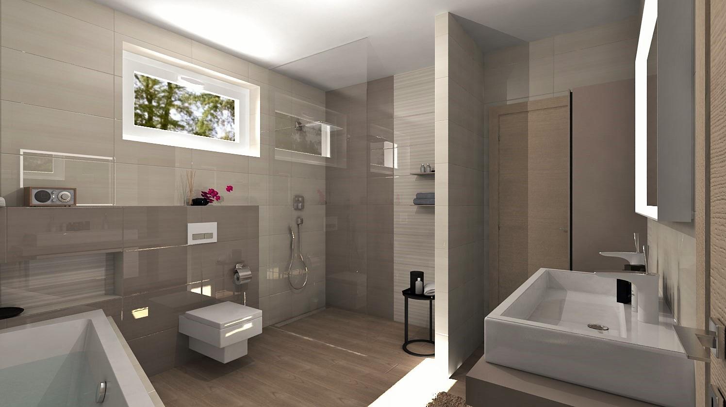 Návrhy a vizualizácie kúpeľní - Obrázok č. 96