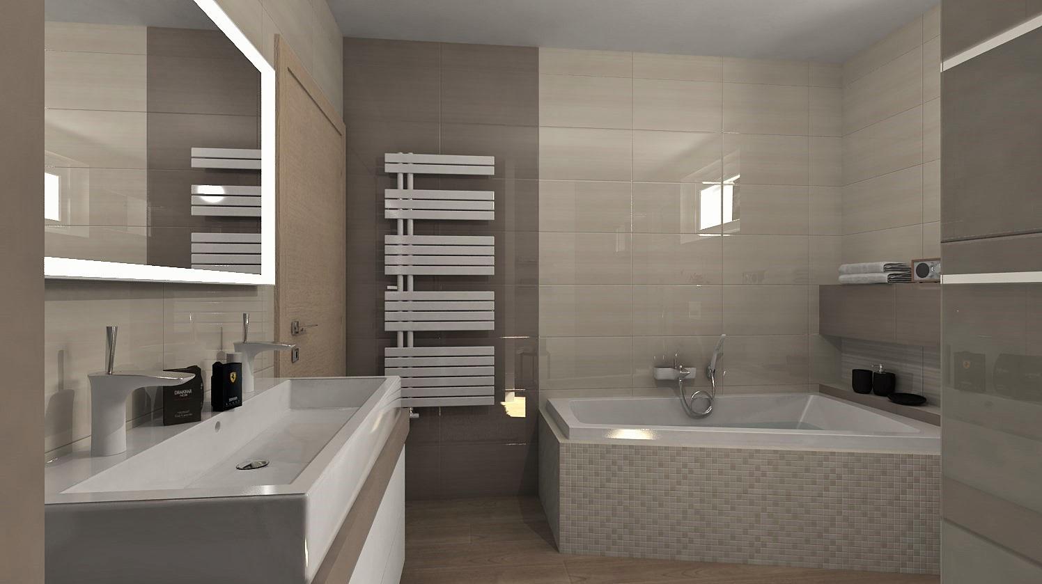 Návrhy a vizualizácie kúpeľní - Obrázok č. 97