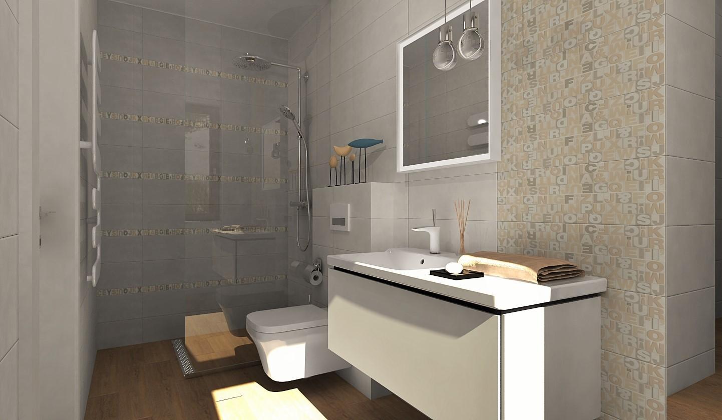 Návrhy a vizualizácie kúpeľní - Obrázok č. 100