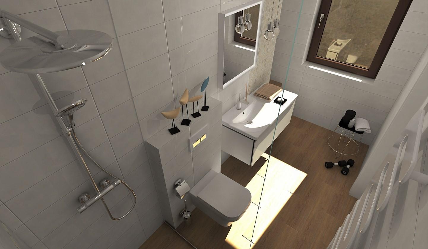 Návrhy a vizualizácie kúpeľní - Obrázok č. 101