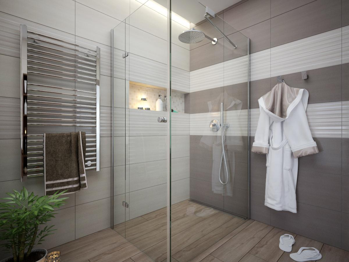 Vizualizácie kúpeľní - Obrázok č. 25