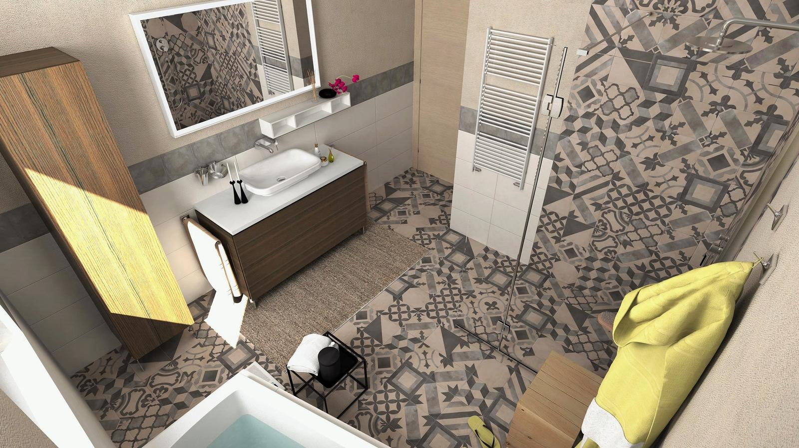 Vizualizácie kúpeľní - Návrh a vizualizácia kúpeľne