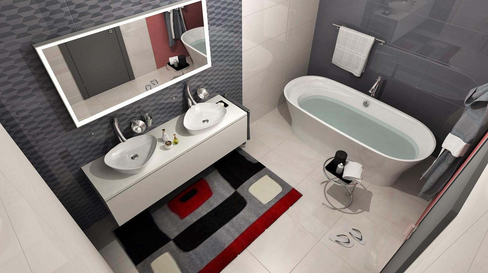 Vizualizácie kúpeľní - Obrázok č. 43