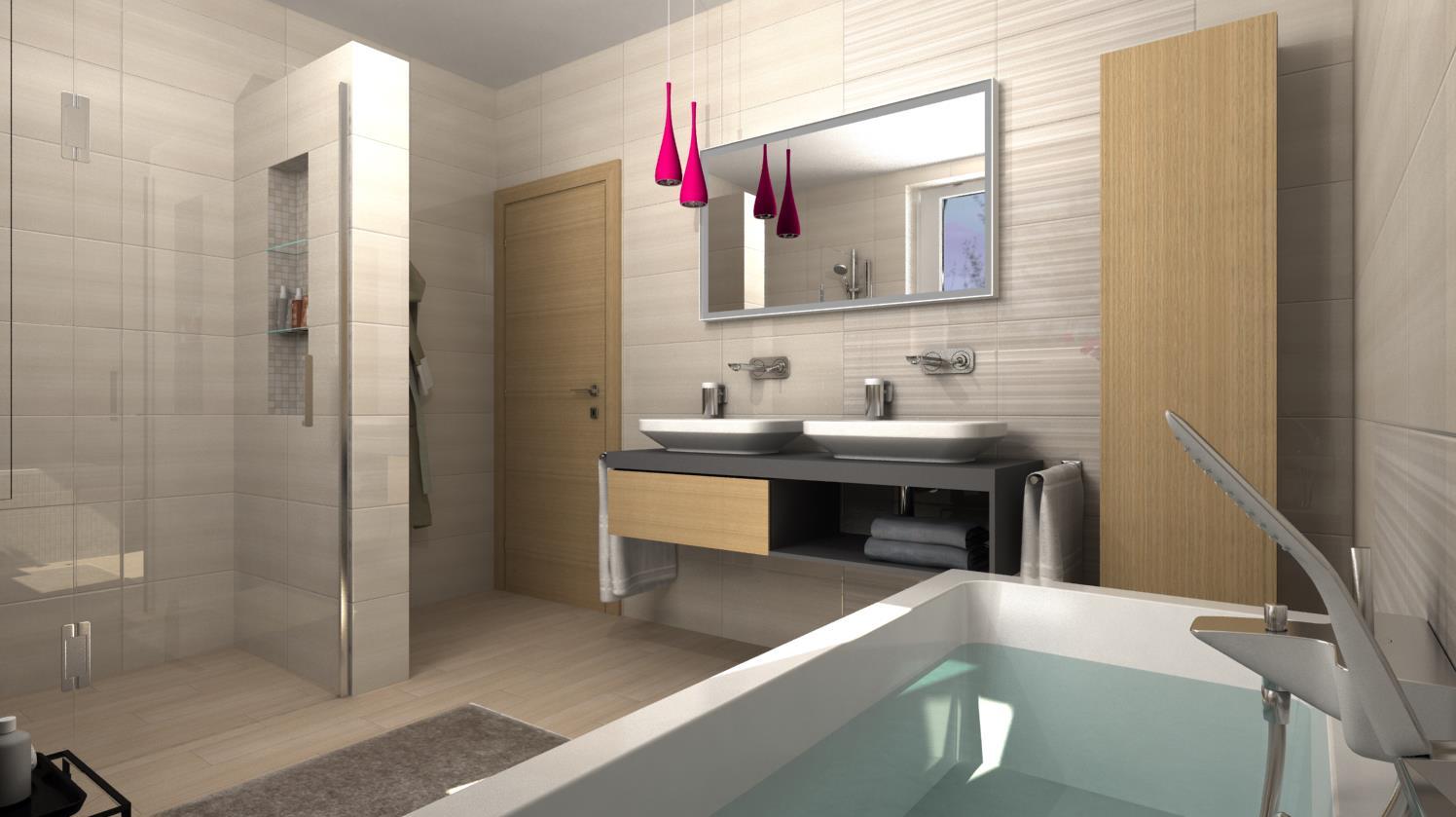 Vizualizácie kúpeľní - Obrázok č. 53