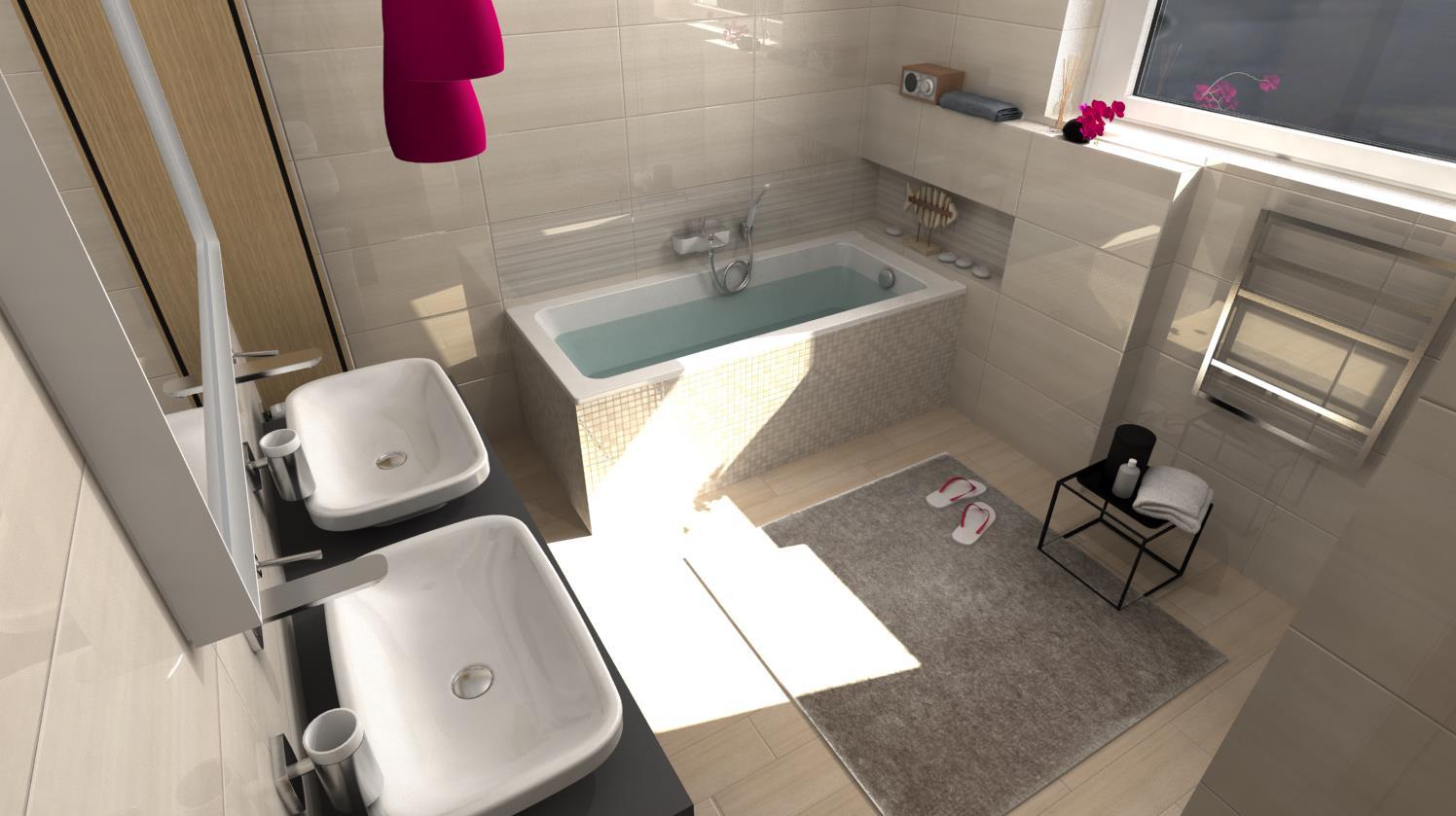 Vizualizácie kúpeľní - Obrázok č. 54