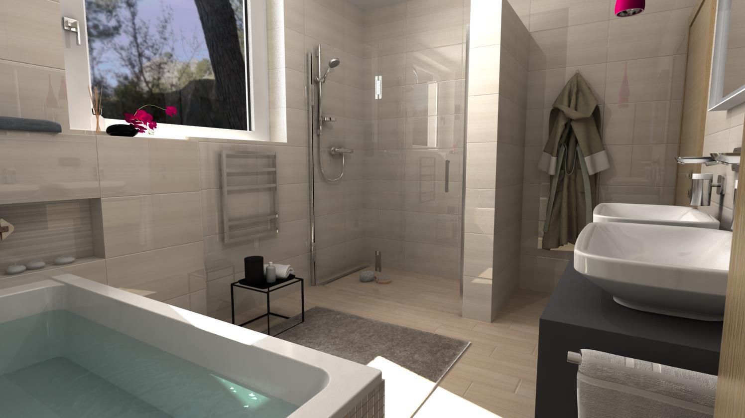 Vizualizácie kúpeľní - Obrázok č. 55