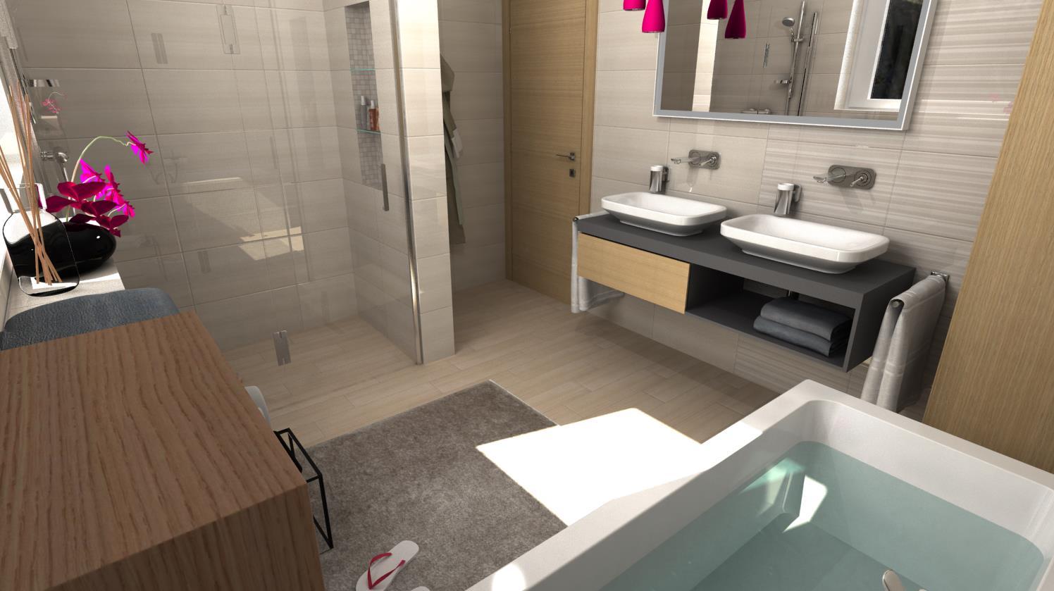 Vizualizácie kúpeľní - Obrázok č. 56