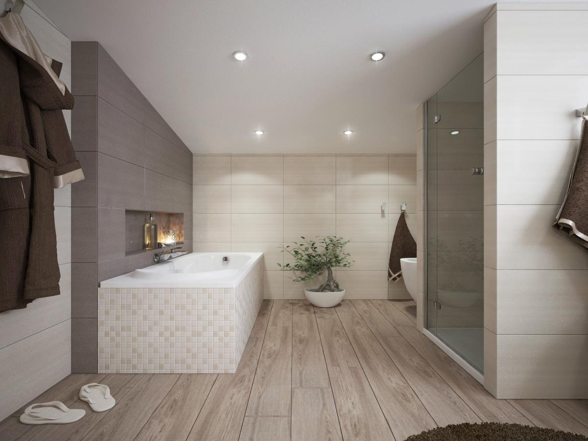 Vizualizácie kúpeľní - Obrázok č. 1