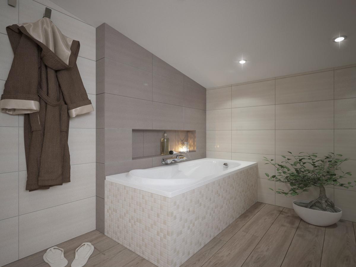 Vizualizácie kúpeľní - Obrázok č. 2