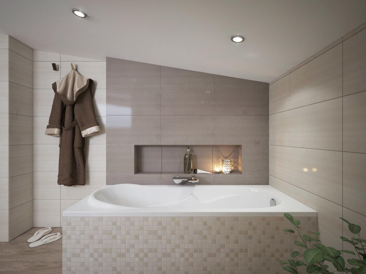 Vizualizácie kúpeľní - Obrázok č. 3