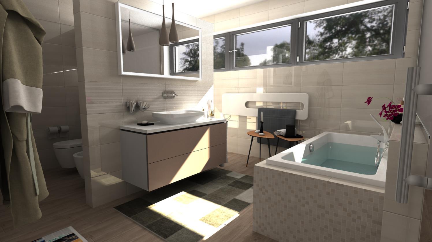 Vizualizácie kúpeľní - Obrázok č. 61