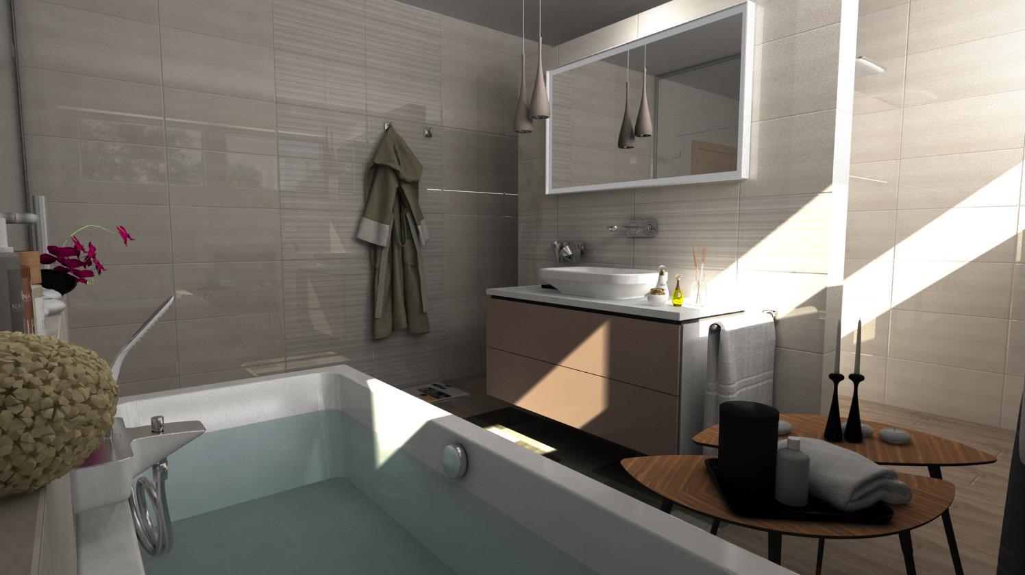 Vizualizácie kúpeľní - Obrázok č. 62