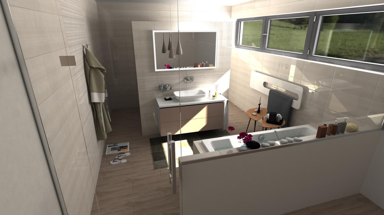 Vizualizácie kúpeľní - Obrázok č. 63