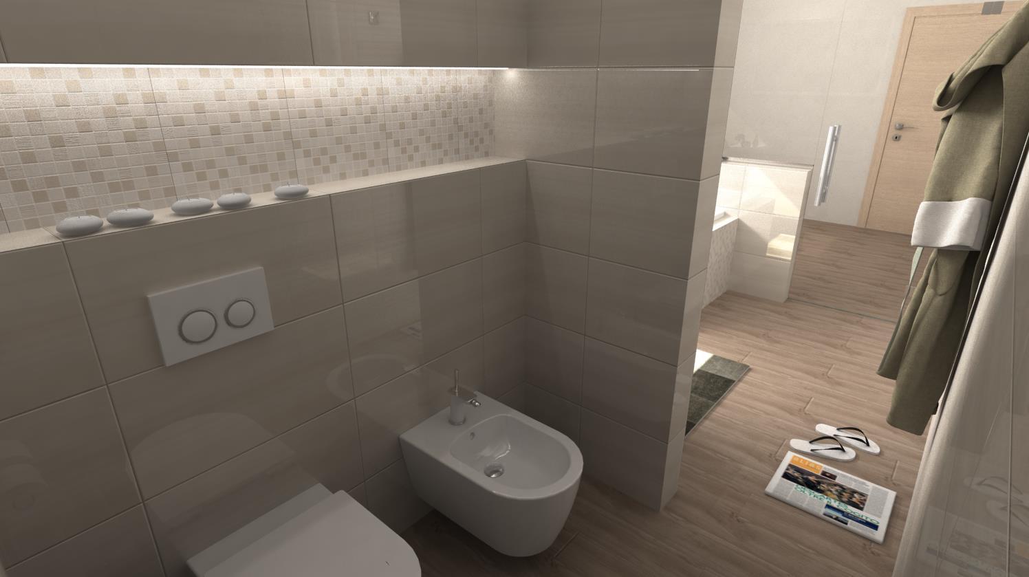 Vizualizácie kúpeľní - Obrázok č. 64