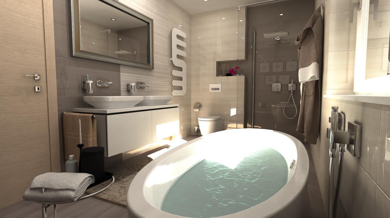Vizualizácie kúpeľní - Obrázok č. 4