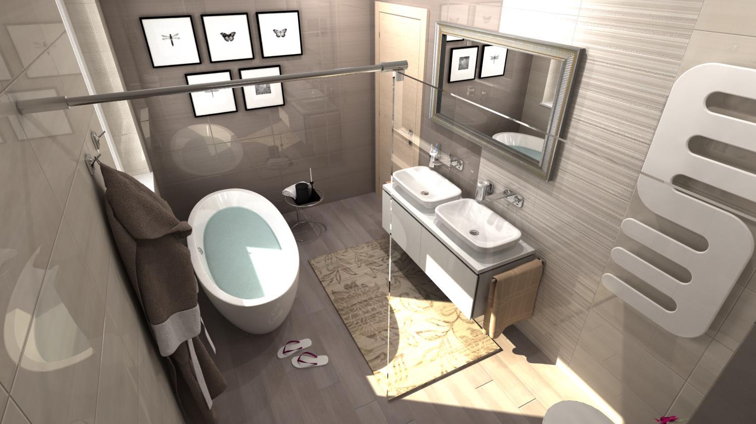 Vizualizácie kúpeľní - Obrázok č. 5