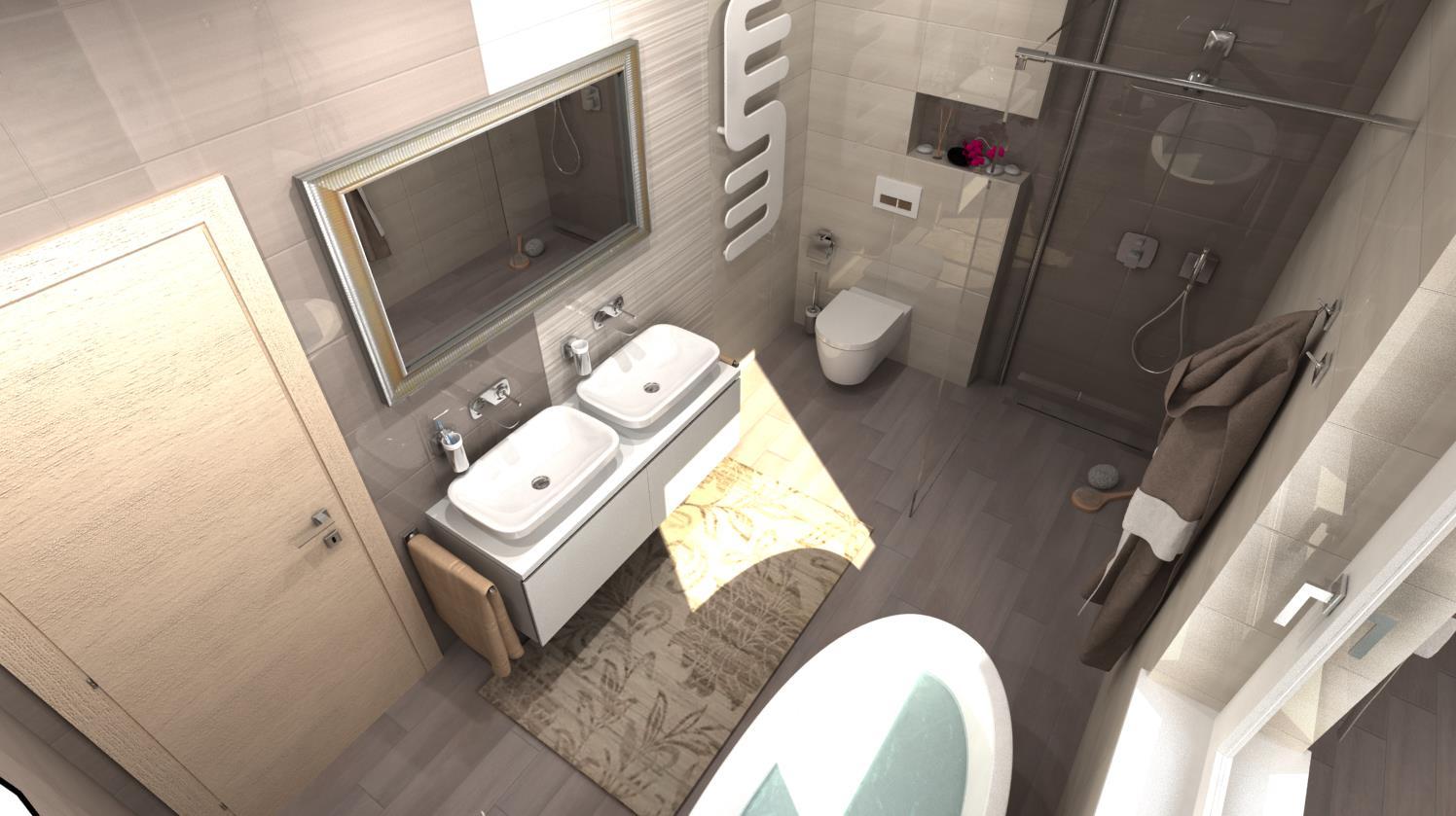 Vizualizácie kúpeľní - Obrázok č. 6