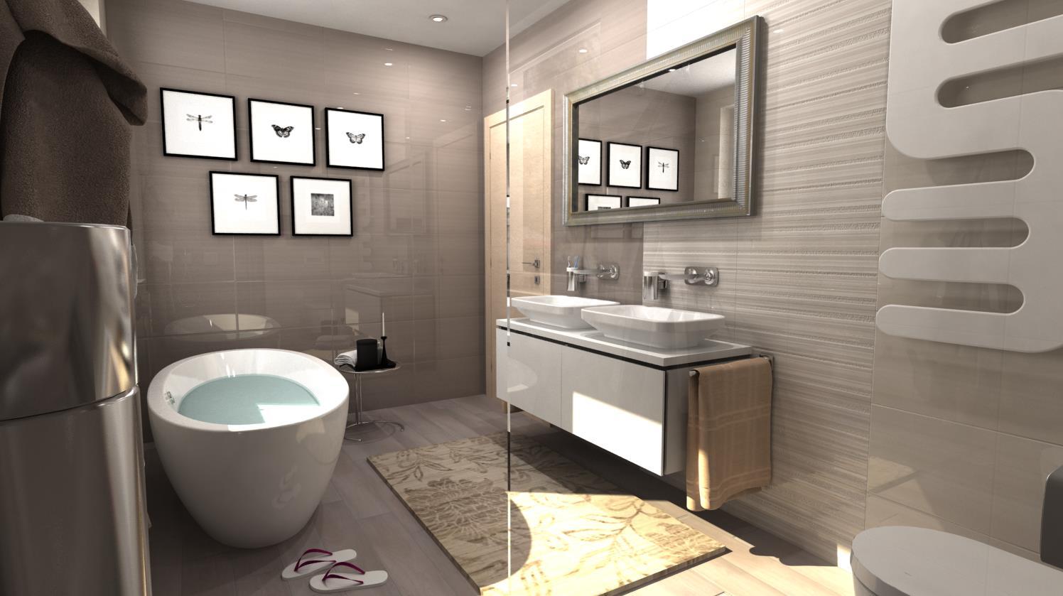 Vizualizácie kúpeľní - Obrázok č. 8