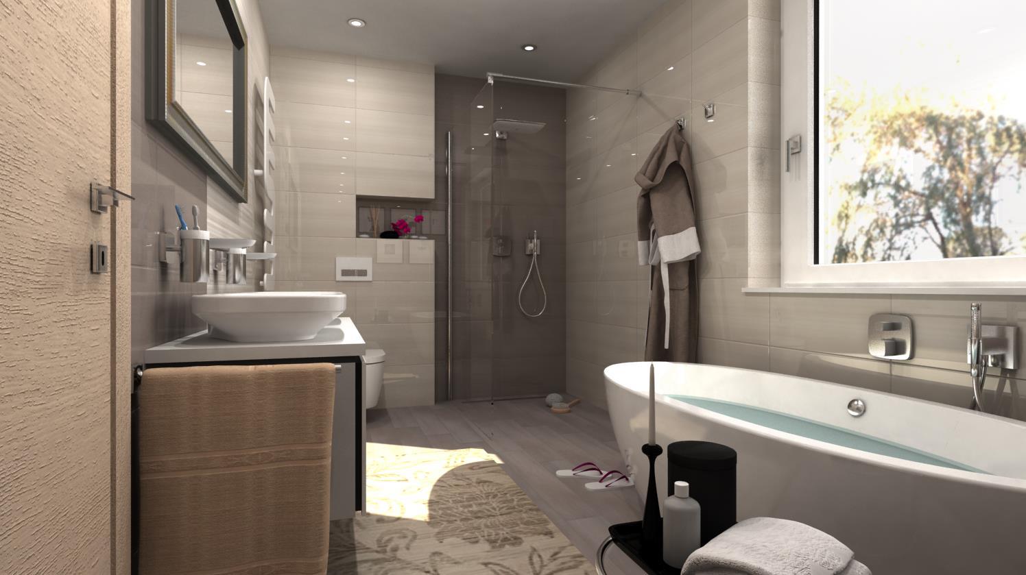 Vizualizácie kúpeľní - Obrázok č. 7