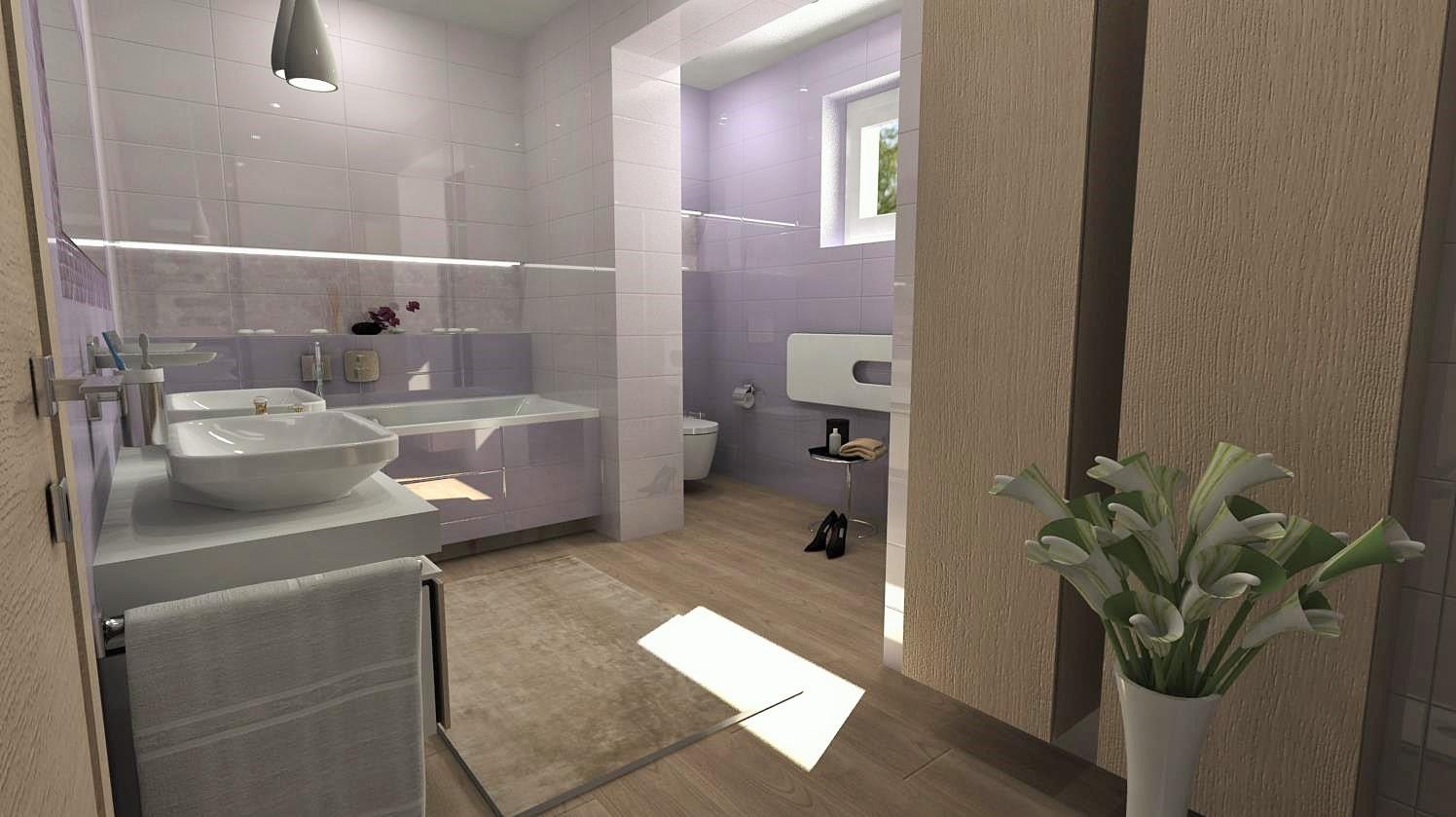Vizualizácie kúpeľní - Obrázok č. 70