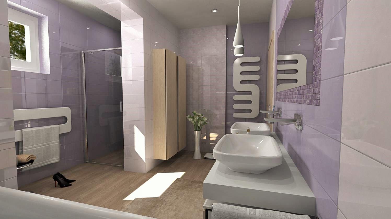 Vizualizácie kúpeľní - Obrázok č. 71