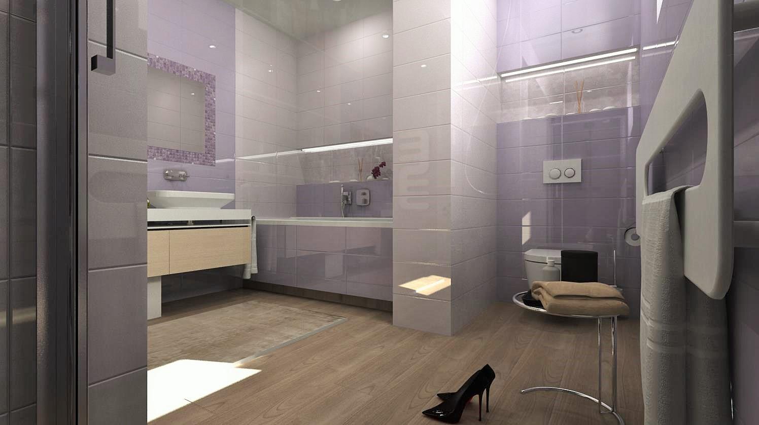 Vizualizácie kúpeľní - Obrázok č. 72