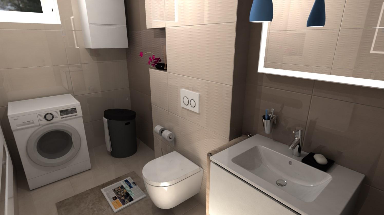 Vizualizácie kúpeľní - Obrázok č. 75