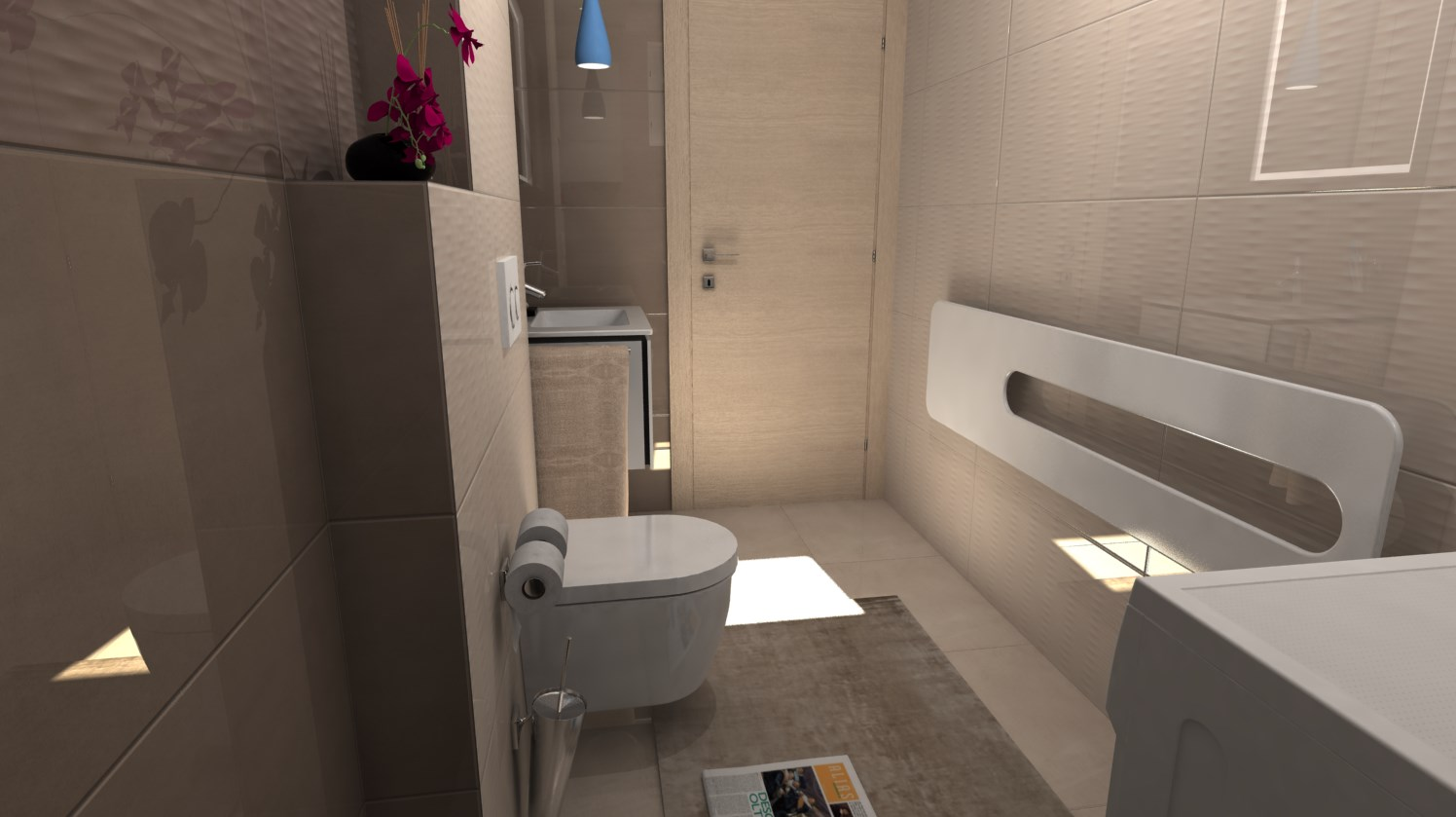 Vizualizácie kúpeľní - Obrázok č. 76