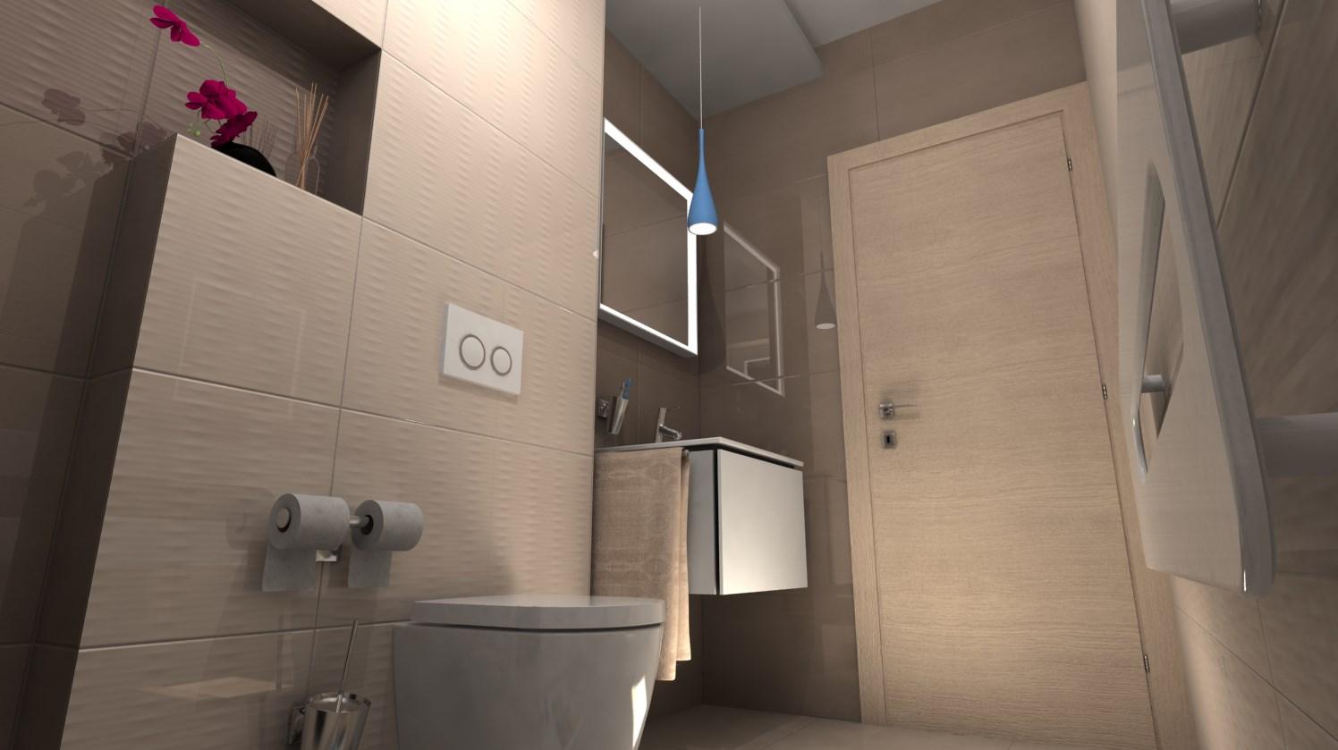 Vizualizácie kúpeľní - Obrázok č. 77
