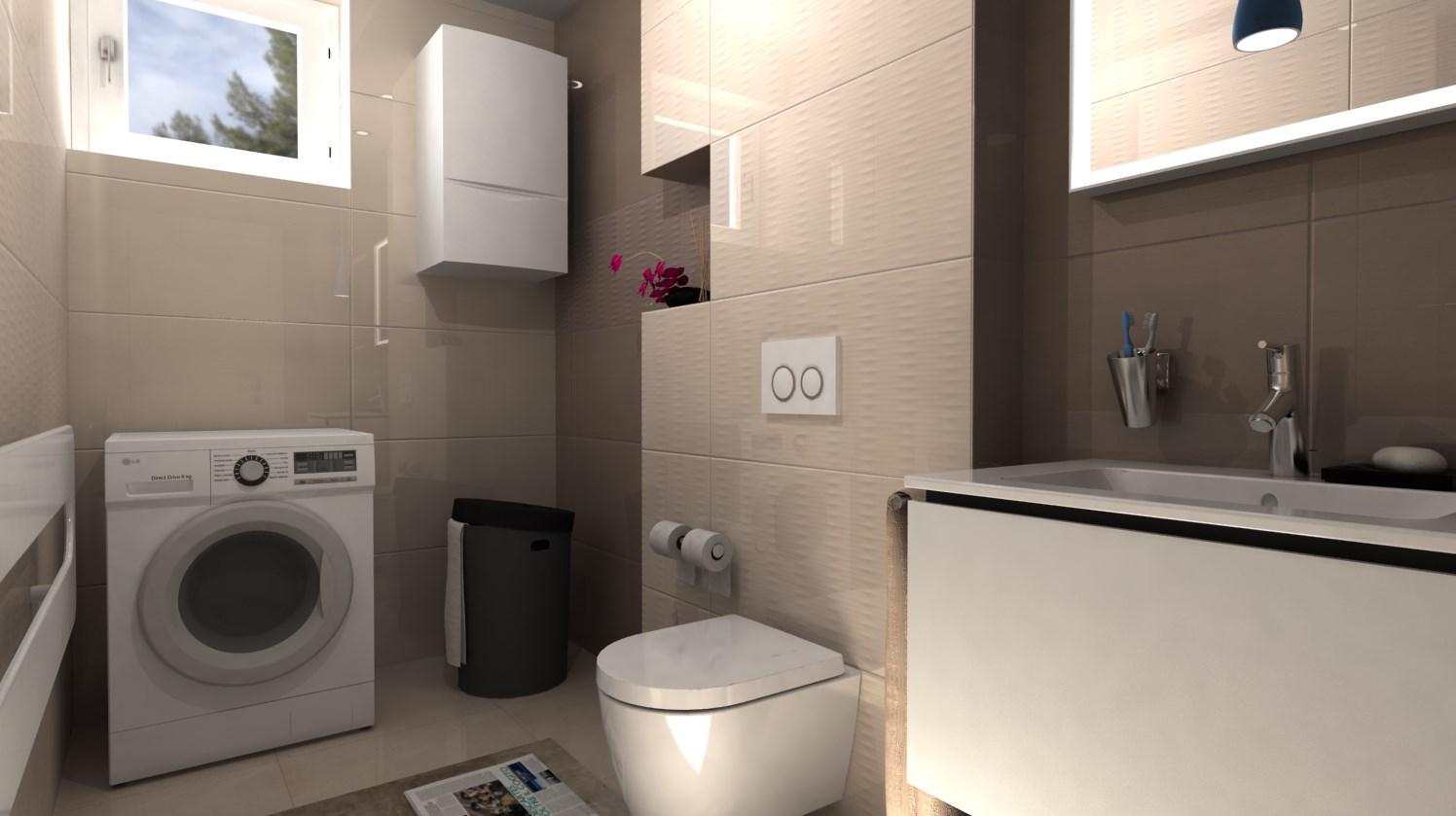 Vizualizácie kúpeľní - Obrázok č. 78