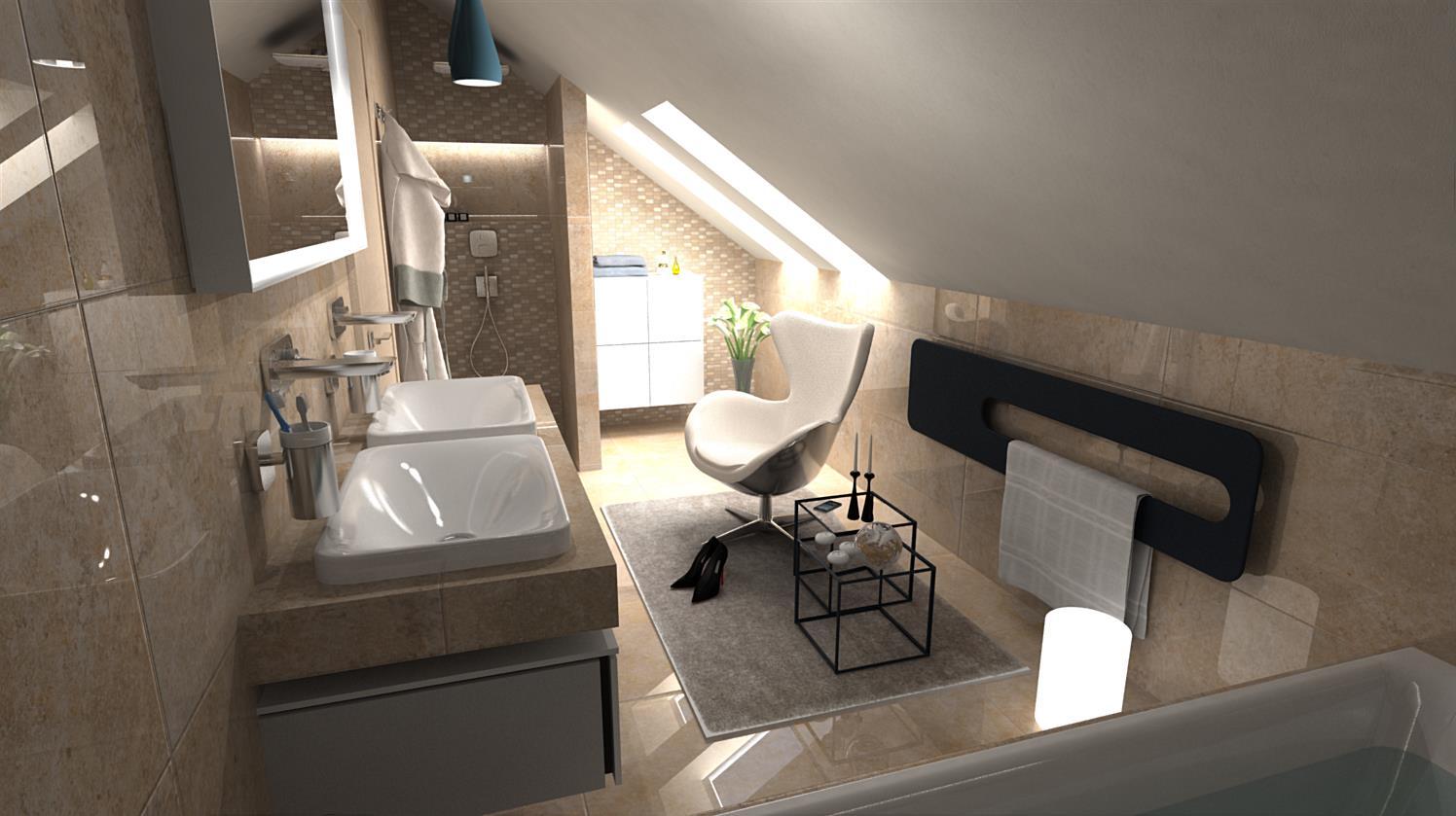 Vizualizácie kúpeľní - Obrázok č. 79