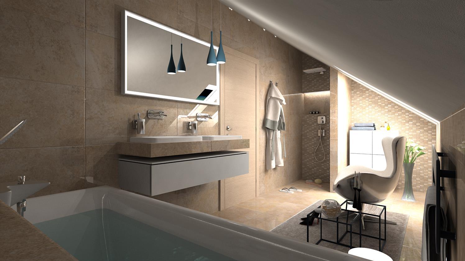 Vizualizácie kúpeľní - Obrázok č. 80