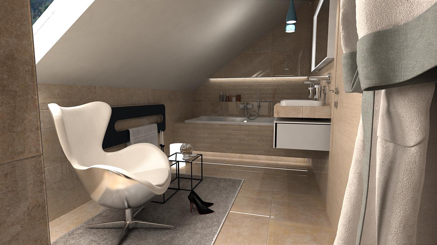 Vizualizácie kúpeľní - Obrázok č. 82