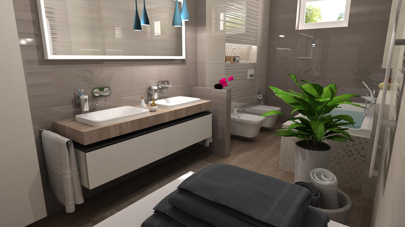 Vizualizácie kúpeľní - Obrázok č. 84