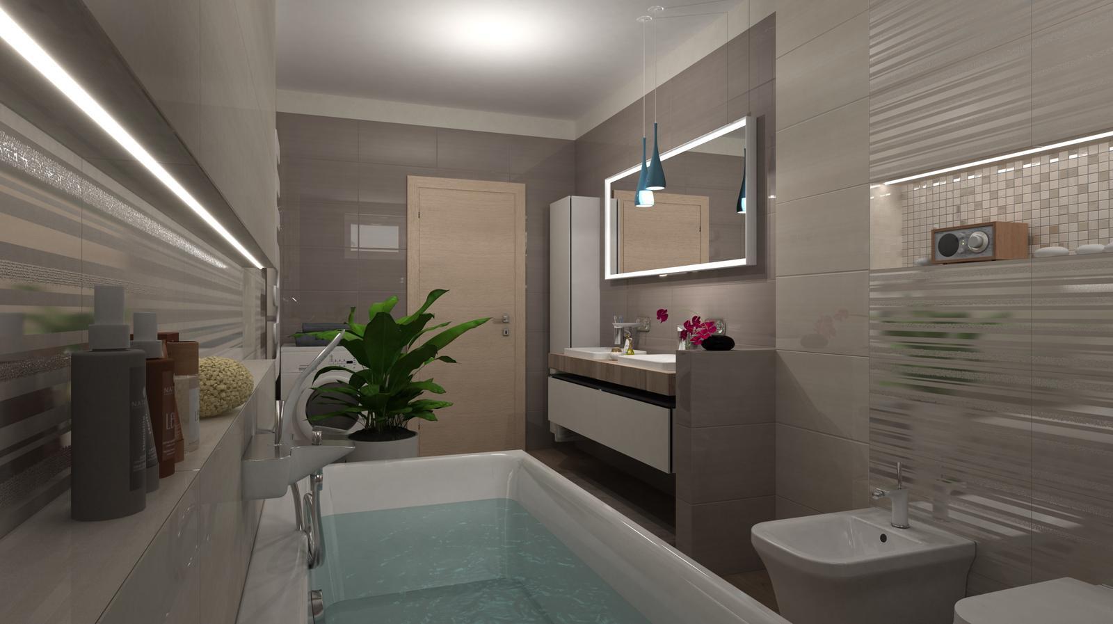 Vizualizácie kúpeľní - Obrázok č. 85