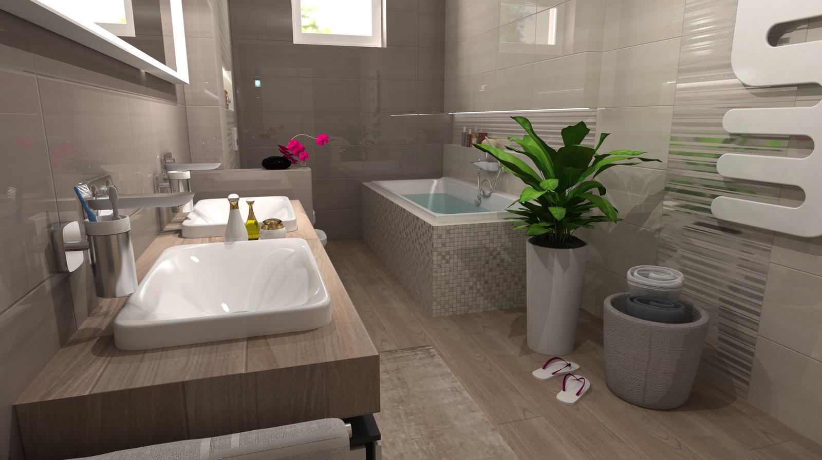 Vizualizácie kúpeľní - Obrázok č. 86