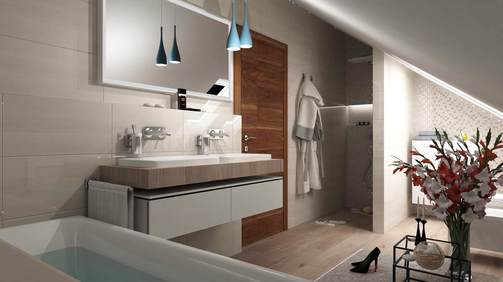 Vizualizácie kúpeľní - Obrázok č. 87